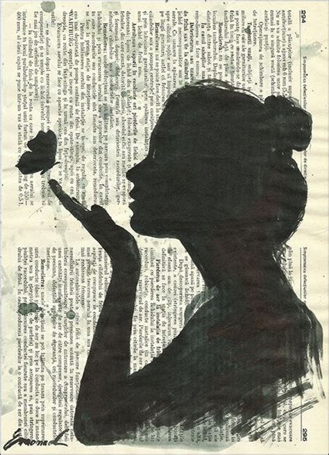 book art  awesome drawn edition recycled books girls