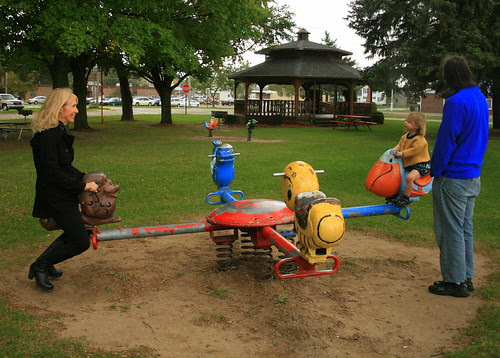 Four way teeter totter