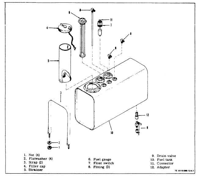 7 3 fuel filter assembly