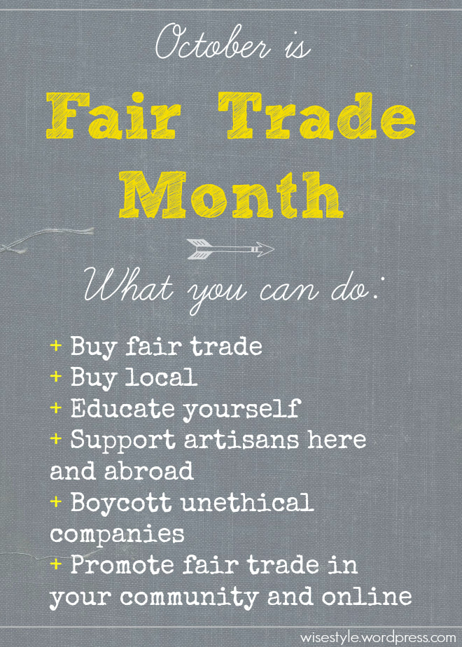 fair trade month graphic