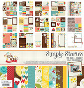 simple stories we are family collection