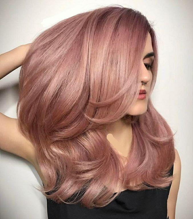 20 Rose Gold Hair Co