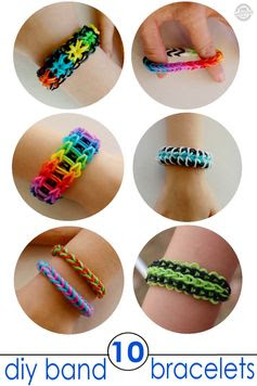 9 Band Bracelets for Kids to Make - Kids Activities Blog