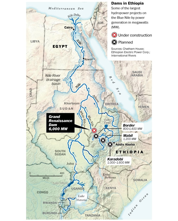 A growing conflict over dams