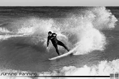 Surfing Panning - Tv 1/250. Jose Leiva