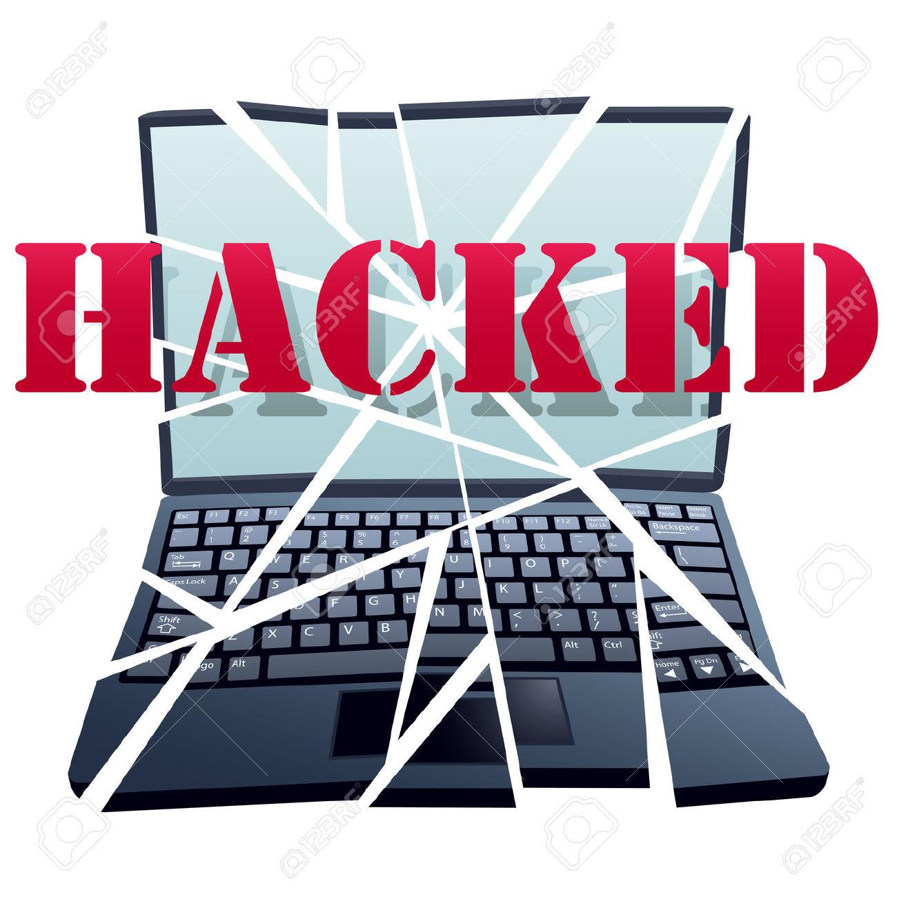Hacked clipart - Cli