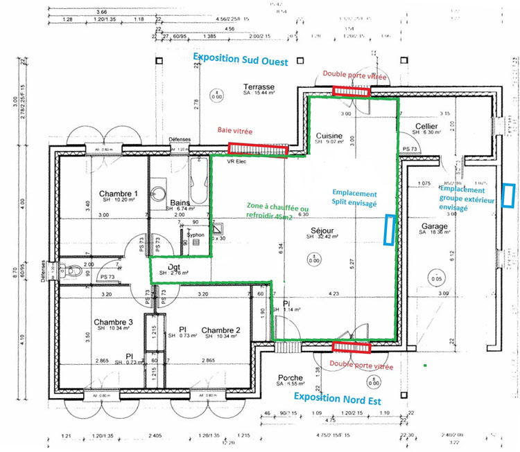 sch ma r gulation plancher chauffant schema installation clim reversible. Black Bedroom Furniture Sets. Home Design Ideas