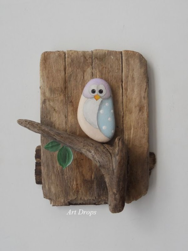 Handy Rock And Pebble Art Ideas For Many Uses2