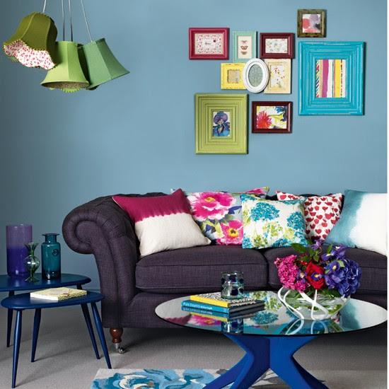Boho-chic living room   housetohome.