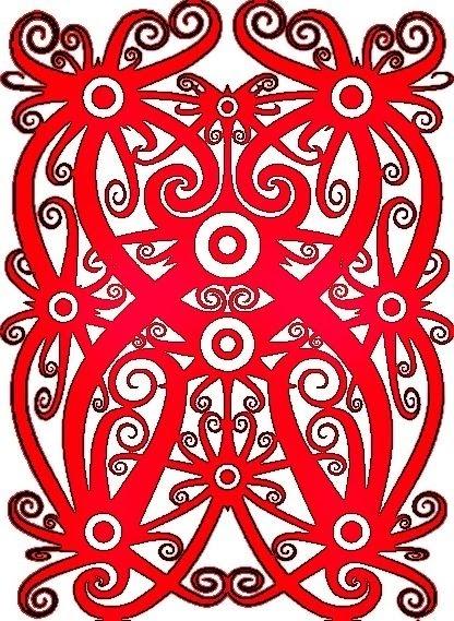 Contoh Gambar Batik