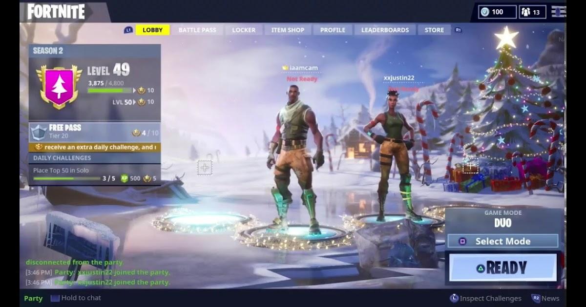 Fortnite Season 3 Lobby Screen Fortnite Free In 2018
