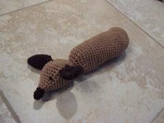 Amigurumi Weiner Dog