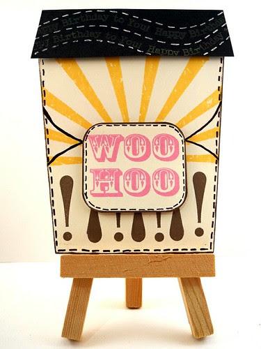 Woo-Hoo! Ice Cream Birthday Card