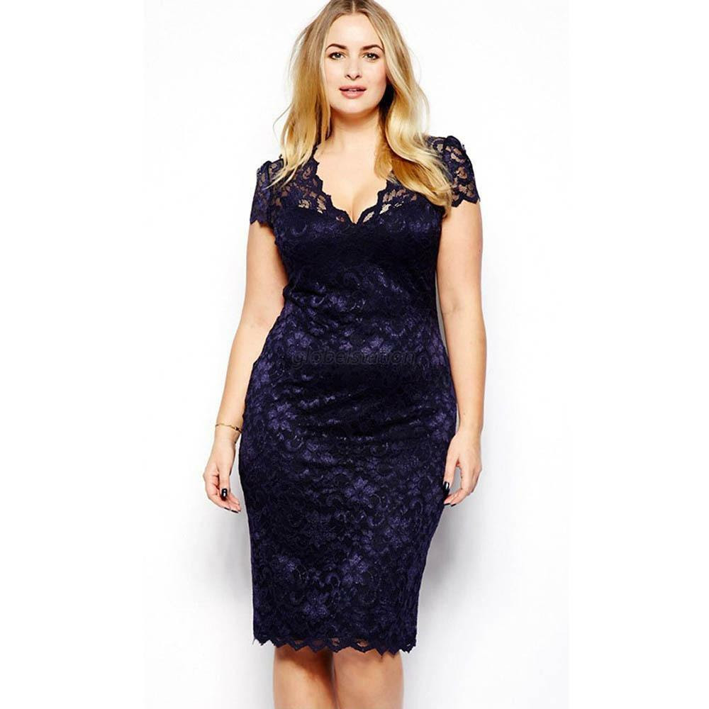 Online plus size Off Shoulder Slit Plain Three Quarter Sleeve Bodycon Dresses navy knoxville tennessee