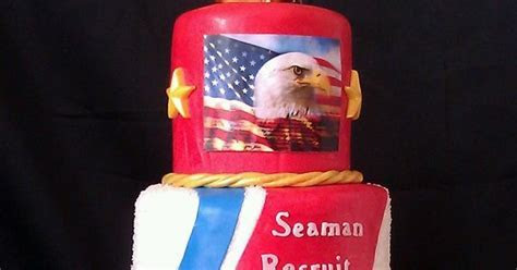 Retirement cake?? (except the Seaman Recruit should not