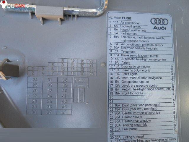b7 a4 fuse diagram 2007 audi a4 ecu relay location audi car  2007 audi a4 ecu relay location audi car