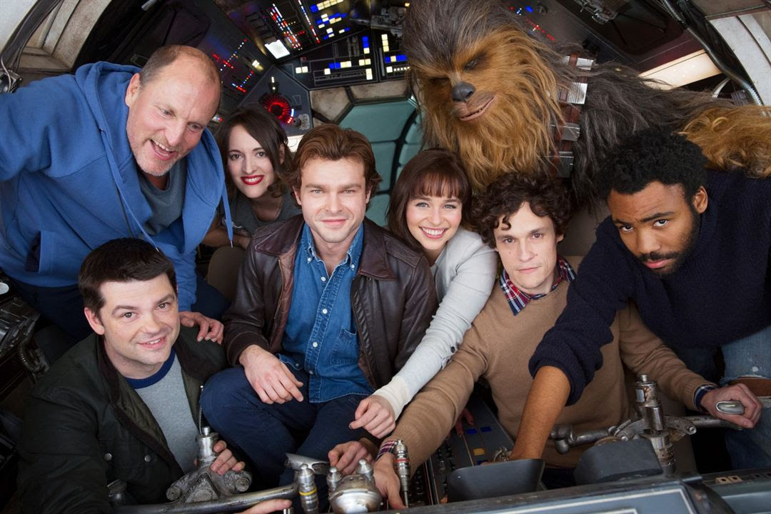Solo: Una historia de Star Wars : Foto Alden Ehrenreich, Christopher Miller, Donald Glover, Emilia Clarke, Joonas Suotamo