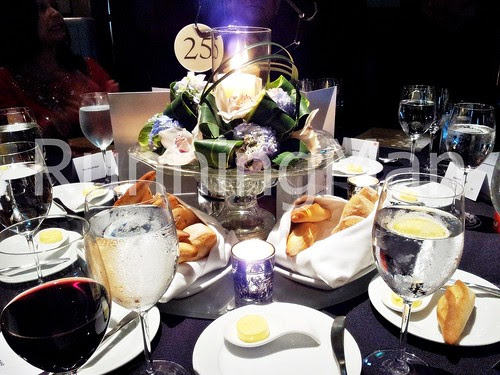 W Hotel Singapore 11 - Table Setting & Bread Rolls