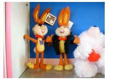 '你能想象可爱的小兔子来自监狱吗?'