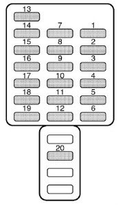 97 Subaru Legacy Fuse Diagram - Wiring Diagram Networks