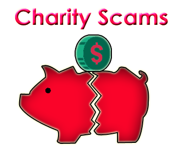 Image result for charity scams