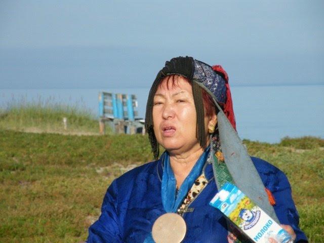 Nadia Stepanova, presidente degli sciamani della Repubblica di Buriazia