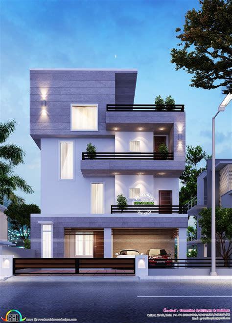 home architecture simple modern bangalore kerala  house