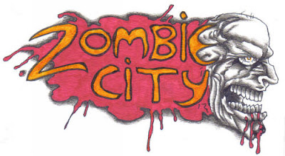 zombie logo art idea sketch