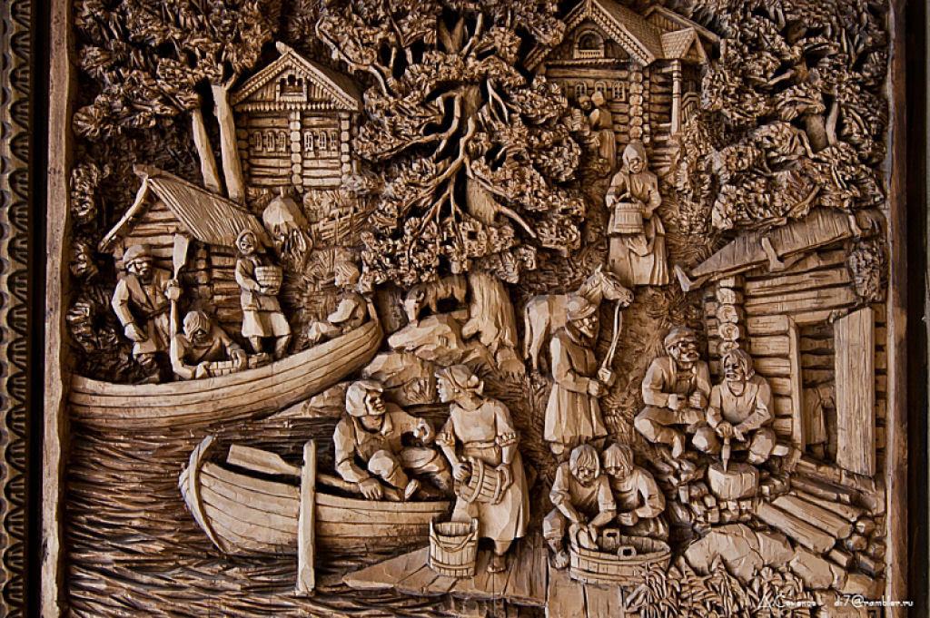 As incríveis pinturas esculpidas de Kronid Gogolev 15