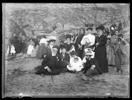 Romería del Valle (Toledo) hacia 1910. Colección de D. Santiago Relanzón Almazán. Ayuntamiento de Toledo