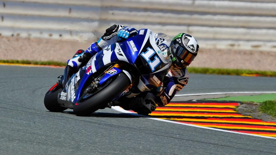 Ben Spies, Yamaha Factory Racing, Sachsenring RAC