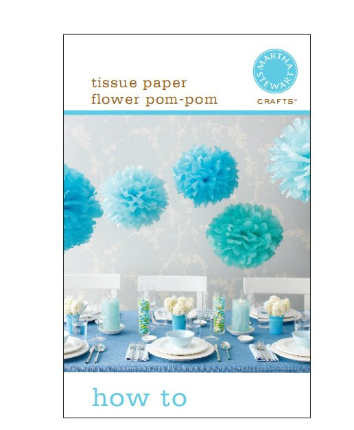 tissue paper flowers how to make. How to make Blue Tissue Paper