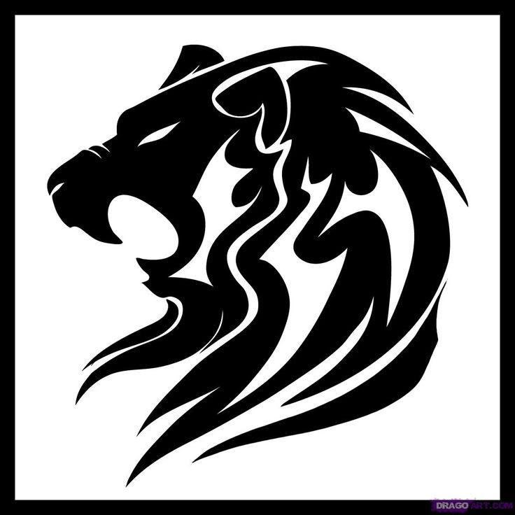 Lion Drawing Tattoo At Getdrawingscom Free For Personal Use Lion