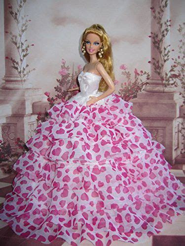 Barbie Doll Clothes Lovely Fancy Gowns Wedding Evening