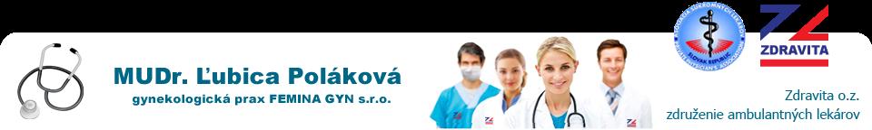 Slider MUDr Ľubica Poláková