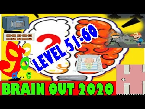 Kunci Jawaban brain out 2020 level 51-60 bahasa indonesia | Brain Test Tricky Puzzles game Brain out 2020