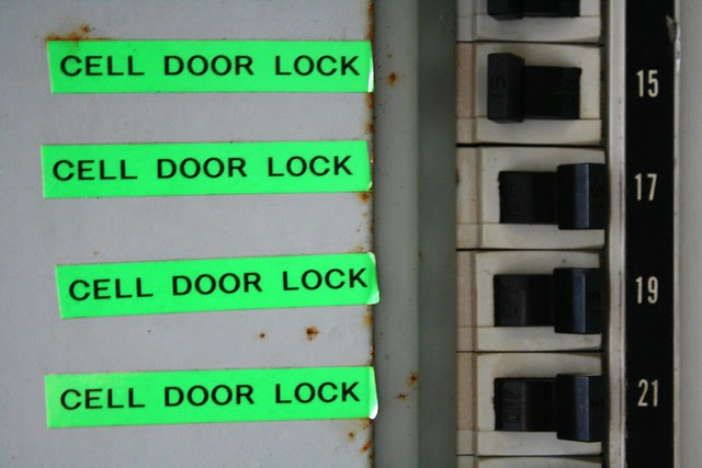 CELL DOOR LOCK