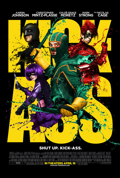 Risultati immagini per kick ass movie  poster
