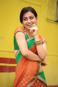 Cute Aksha Photos in Half Saree