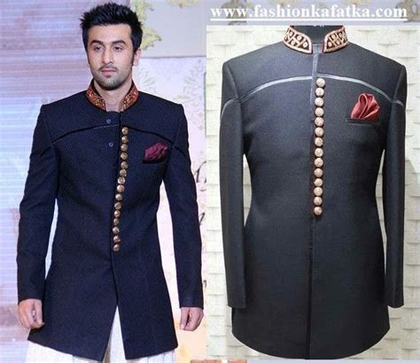 Ranbir Kapoor Designer Sherwani   Bollywood Sherwani for