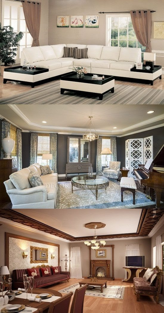 What Are Some Types of Living Room Interior Design ...