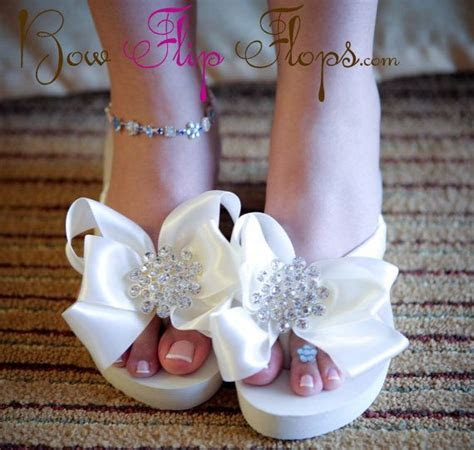 The 25  best Bridal flip flops ideas on Pinterest