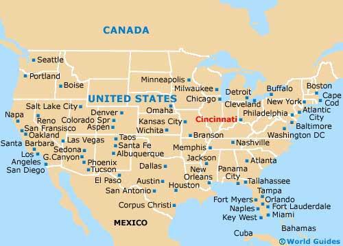 Usa Map Of Ohio