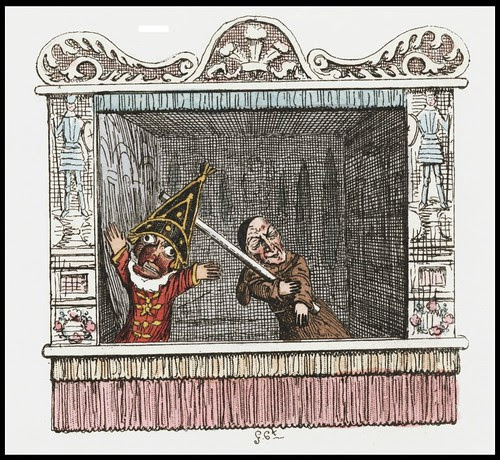 Punch and Judy by George Cruikshank, 1828 g