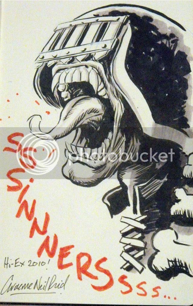 Graeme Neil Reid,Illustration,2000ad