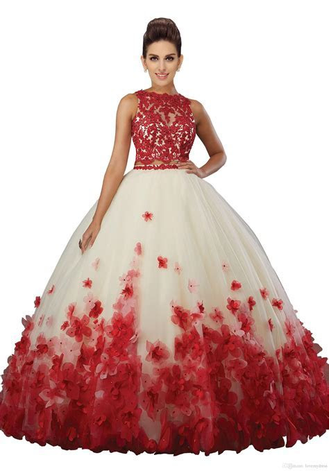 Fashion Two Pieces Quinceanera Prom Dresses Cheap 2019 New