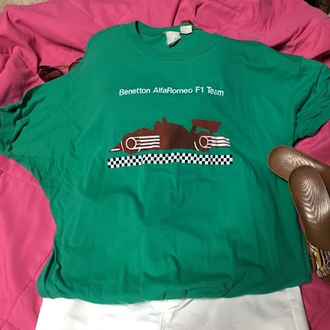 Alfa Romeo T Shirt Vintage