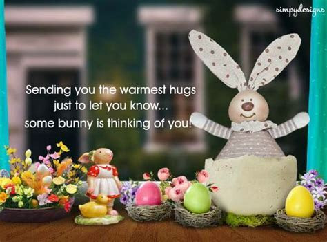 Warm Hugs And Wishes On Easter. Free Happy Easter eCards