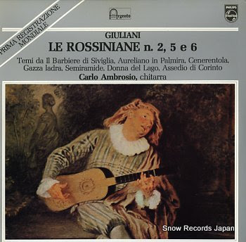 AMBROSIO, CARLO giuliani; le rossiniane n. 2, 5 e 6
