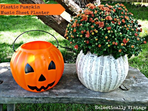 Off the Vine Pumpkin Crafts